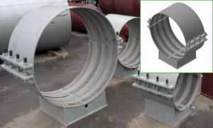 Опора трубопровода 09.ОБКП.В3-1020